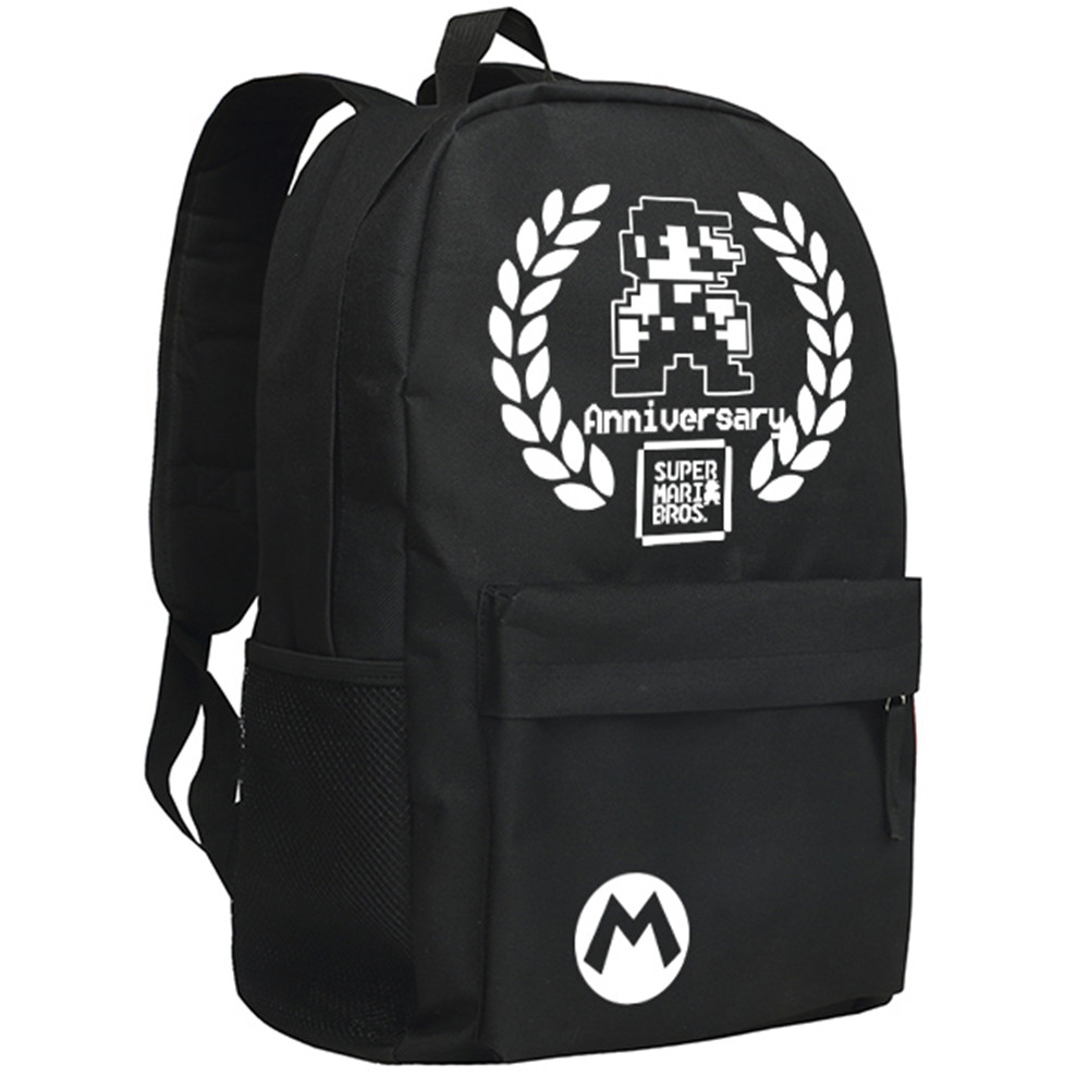 Classical Computer Game Super Mario Backpack for Boys and Girls Bookbag franke bibliotheca cardiologica ballistocardiogra phy research and computer diagnosis