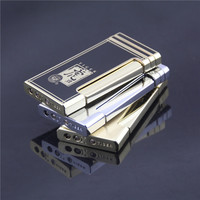 gift boxes of high-grade ultrathin lateral straight in lighter, lighter gift,Metal lighters, gifts lighters.