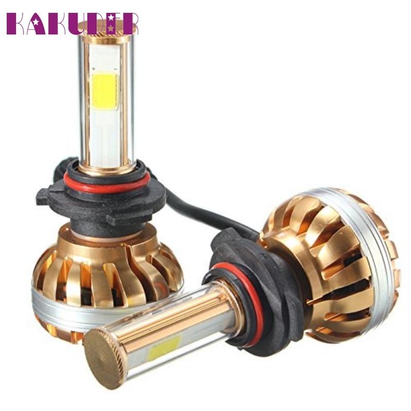 NEW 9006 120W LED Headlight Kit 6000K White Car Bulb Lamp Light High quality OCT13 auto 9006 car led headlight light bulb kit set conversion white 60w 6400lm 6000k jan25