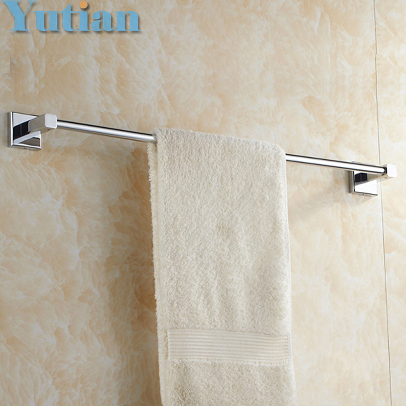 Free Shipping Single Towel Bar/Towel Holder,Solid Brass Made,Chrome Finish, Bathroom hardware,Bathroom accessories free shipping bathroom products solid brass chrome single towel bar chrome towel holder towel rack bathroom accessories cs008d 2