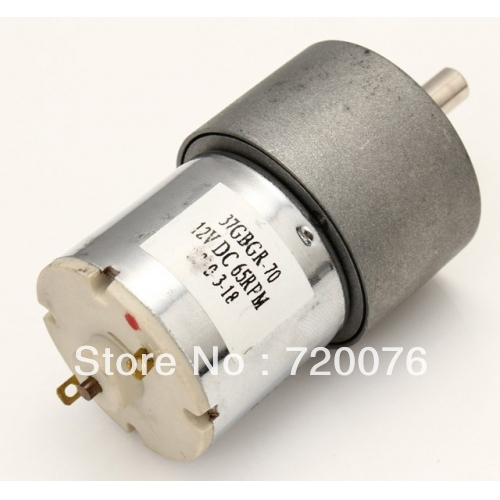 2pcs 12V 60 RPM 60RPM High Torque Gear Box DC Motor