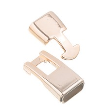 20Sets Rose Gold Toggle Clasps CCB Plastic Fermoirs DIY Jewelry Findings 24x13mm(1″x 4/8″)