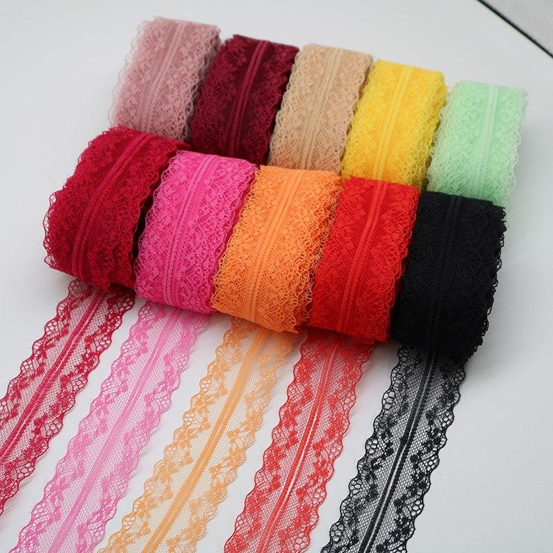 Оптовая продажа 10 метров красивая кружевная тесьма 40 мм широкий белый кружевная бейка DIY вышивка Африканский кружевной ткани швейная декоративные ремесла