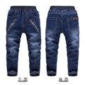 Высококачественный Goys джинсы свободного покроя детей брюки мальчиков брюки 3Y - 7 г