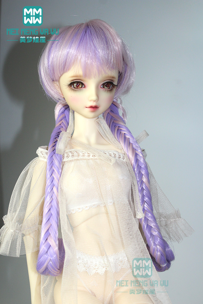 1//3 BJD Ball Jointed Doll Lace Underwear Stocking Socks Set for DOD Purple