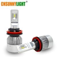 CNSUNNYLIGHT H4 H7 H11 LED H1 H13 H3 9005 HB3 9006 HB4 9004 9007 9012 HIR2