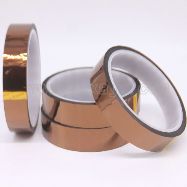 20mm X 33m 100ft Kapton Tape High Temperature Heat Resistant Polyimide fast shipping