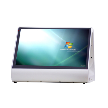 Windows os Capacitive touch screen 12 inch dual screen POS cash register touch integrated PC POS machine