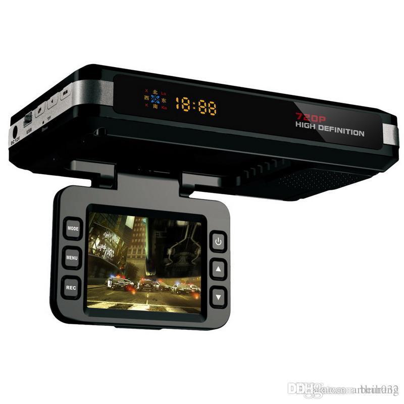 3 in 1 Auto Radar detector (Russische voice) DVR Dash Cam GPS tracker DVR Speed Detector 2.0 TFT dvr Camera G sensor Nachtzicht