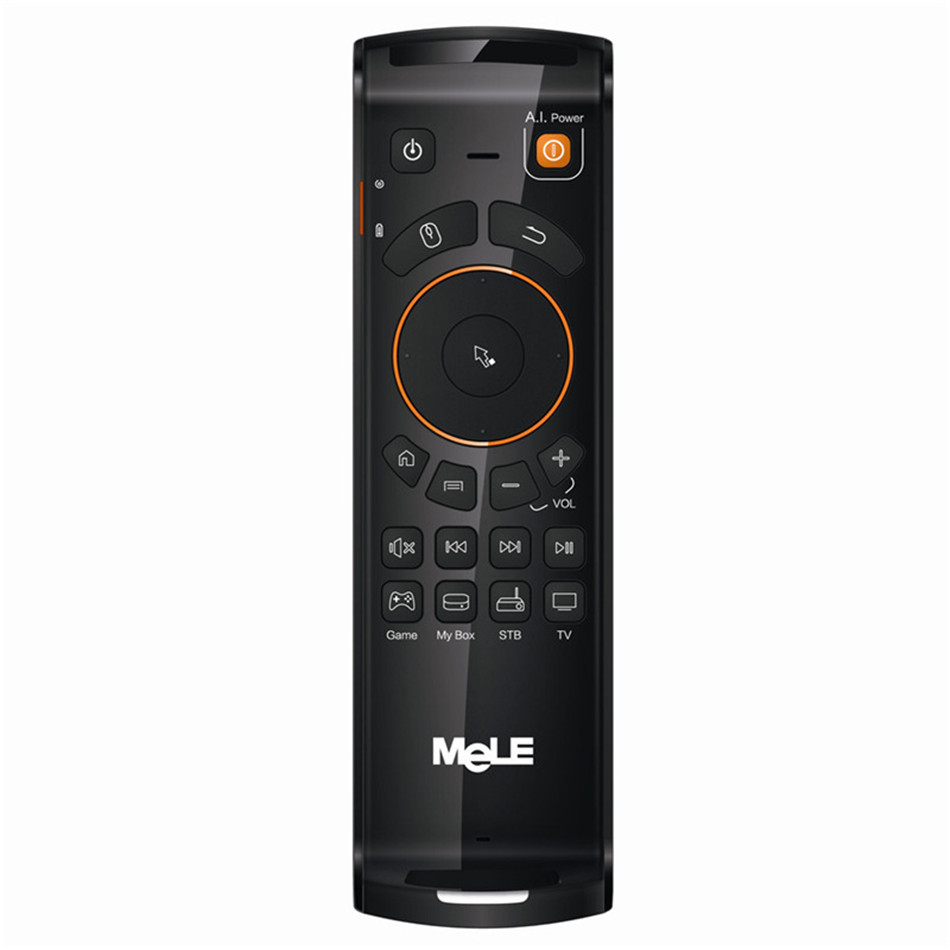 MeLE Deluxe Fly Air Mouse 2.4GHz Wireless Gaming Keyboard Remote Controls for Android TV Box Notebook Mini F10 Keyboard Mause mele f10 pro 2 4ghz air mouse wireless keyboard intelligent voice
