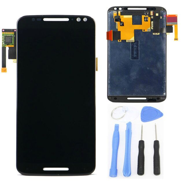 LCD Display Screen For Motorola For MOTO X3 Style X3s XT1570 with Touch Screen Digitizer Assembly +Tool White