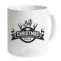 Printed Mugs Coffee Ceramic Big Christmas Milk Cups Printed Water Cup Camping Home Creative Home Travelling