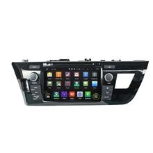 8 дюймов Android 5.1 4 ядра HD1024 * 600 dvd-плеер автомобиля toyota для Левин 2014-2015 Бесплатная 8 ГБ карта автомобиля видео стерео WI-FI