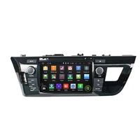8Inch Android 4 4 4 Dual Quad Core Car DVD Player For TOYOTA For LEVIN 2014