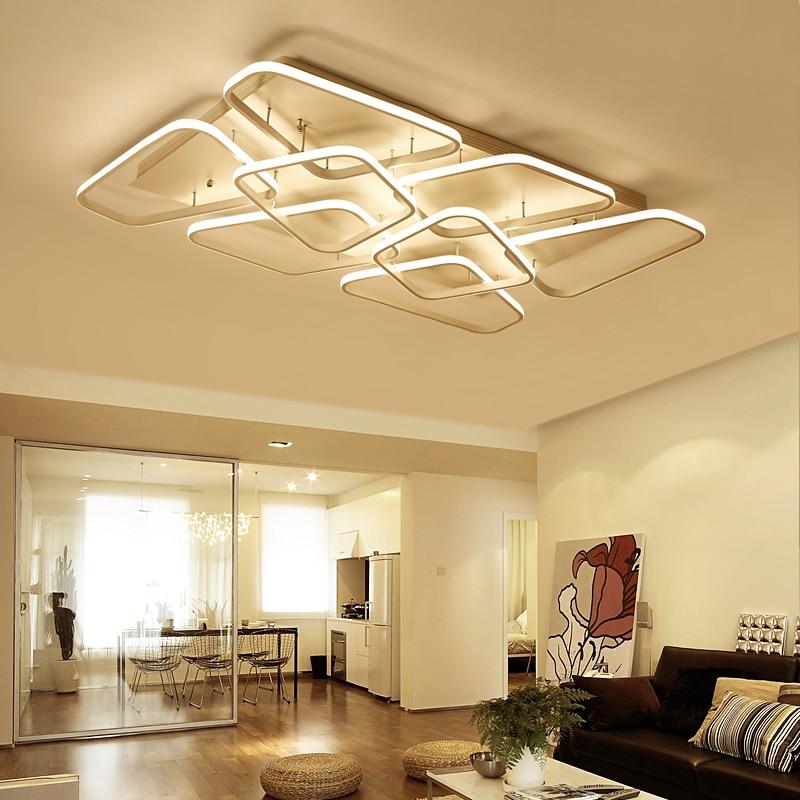 Гостиная потолочный свет Гостиная для детской комнаты ультратонких потолочный светильник декоративный абажур Lamparas де techo