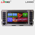 2 din car dvd for hyundai santa fe 2006-2012 year Gps Navigation Steering Wheel Control Reversing Camera Digital touch screen FM
