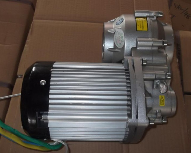 1500w DC 60v brushless motor, electric bicycle BLDC , motor, differential gear motor, BM1424HQF 14A