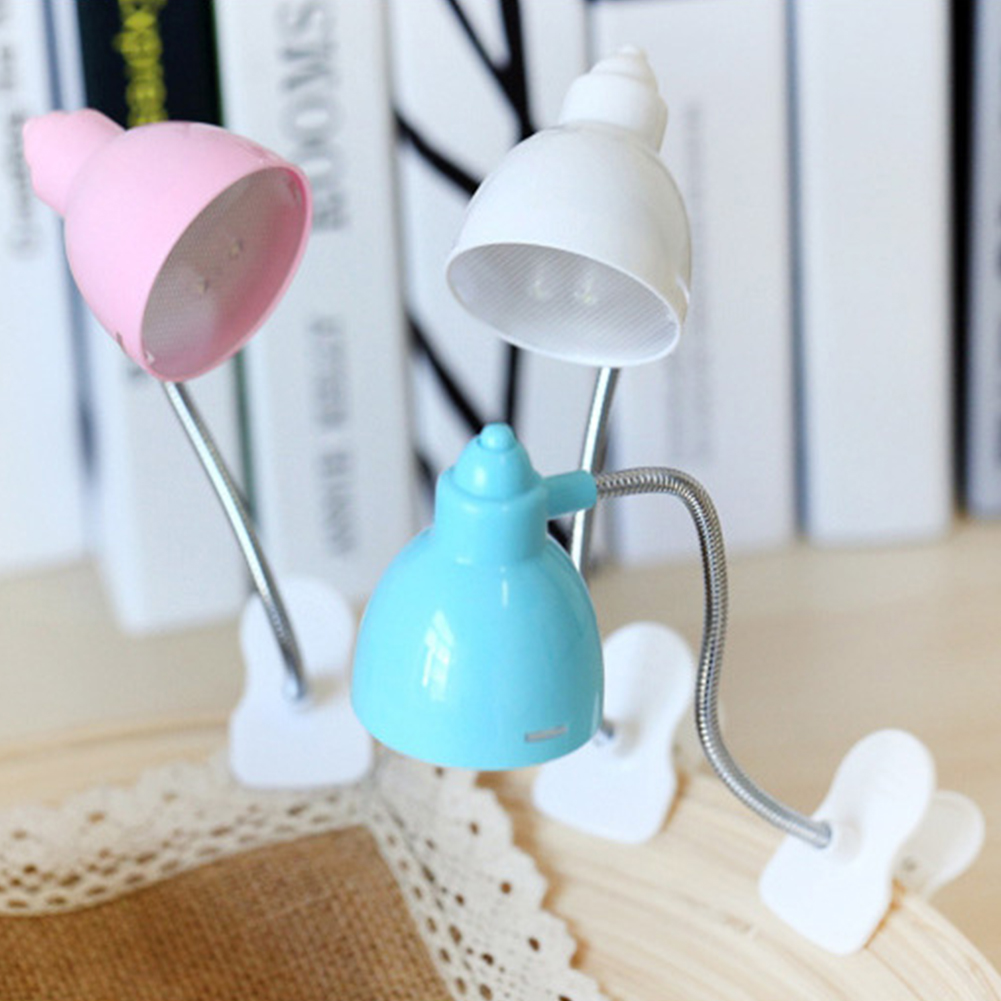 Bedside Night Light Children Reading Light Desk Lamp Eye-caring Uv Bedroom With Cla Flexible Buy One Get One Free Book Lights
