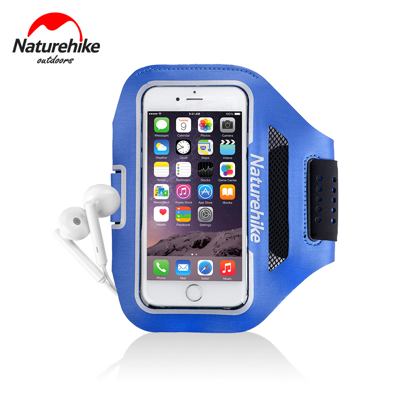 font b Naturehike b font Factory Outdoor Night running mobile phones arm bags sports gym