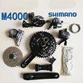 Shimano m4000 велосипедный переключатель 9S 27S дорожный велосипедный переключатель переключения + передний переключатель + задний переключатель