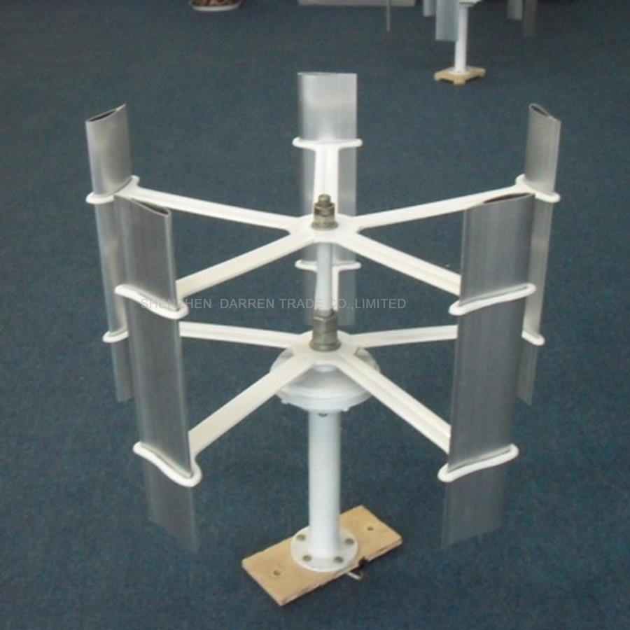 10 w 5 pales éolienne générateur 12 V haute efficacité petit Rotor d'énergie éolienne domestique