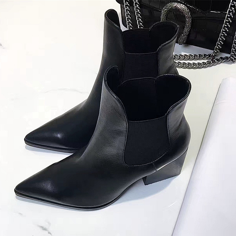 Online Get Cheap Black Patent Leather Ankle Boots -Aliexpress.com ...