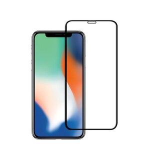 Image 3 - 2 個防塵のための iphone × iphone 11 強化ガラス 3D フル画面プロテクターフィルムのための iphone 11 プロ 11Pro 最大