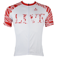 cycling jerseys Free shipping LIVE Pattern Red Short Sleeve Cycling Apparel for Men Breathable Size S To 6XL
