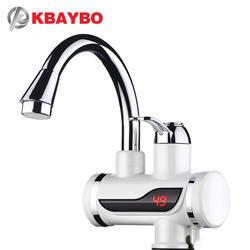 3000 Вт Мгновенный водонагреватель кран температура дисплей электрический водонагреватель горячей воды Tankless Отопление ванная комната