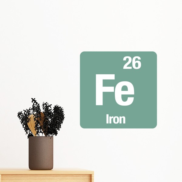 Chemical Periodic Table Of Elements Science Fe Ag Hg Silhouette