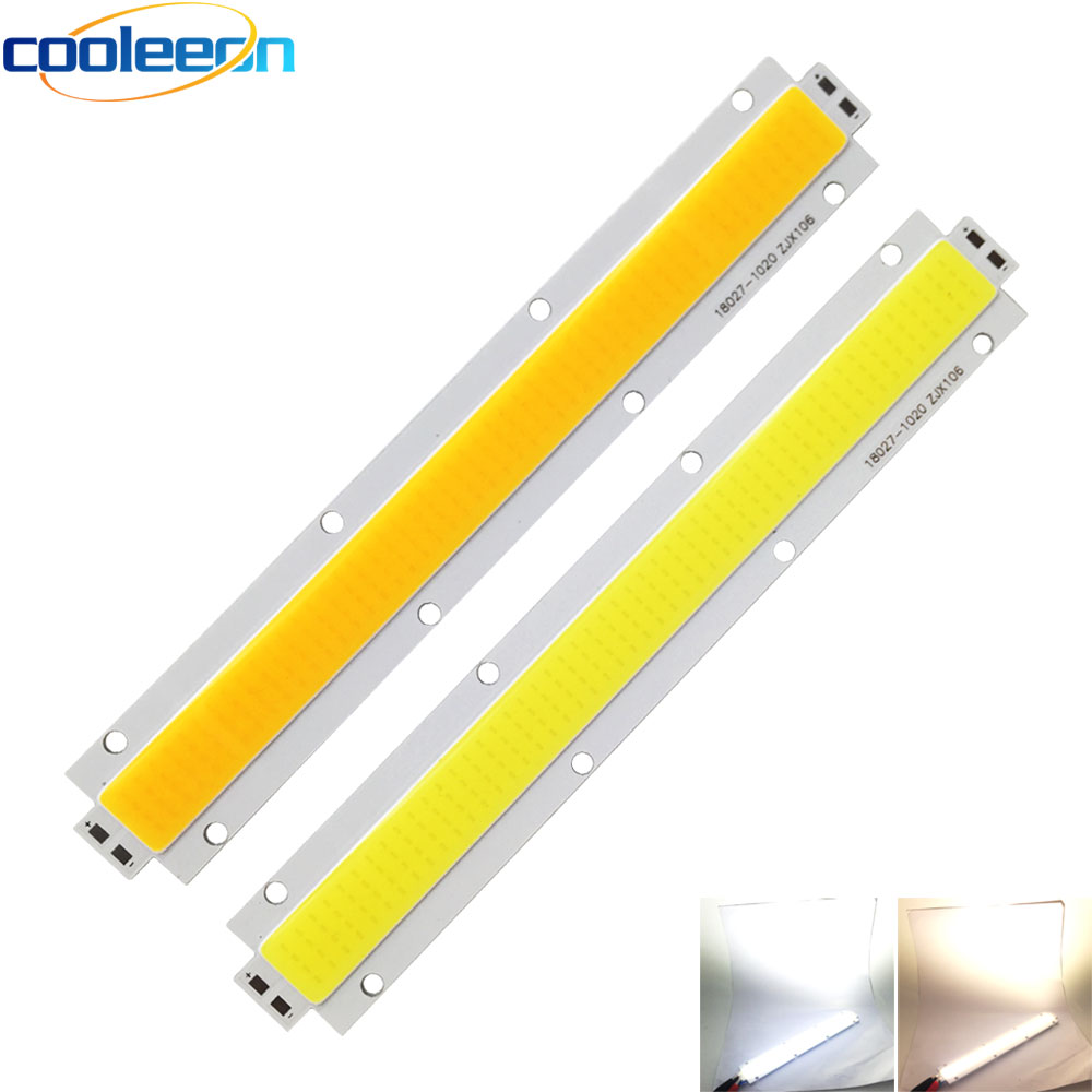 COOLEEON 180*27 мм COB полоса 150 Вт светодиодный чип на плате fllodlight источник освещения 28 33 в теплый белый светодиодный светильник для прожекторов