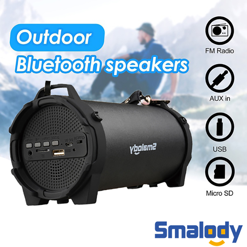 Mini Bluetooth Speaker Portable Wireless Speaker Outdoor Portable Subwoofer Column Bluetooth Wireless Powerful Sports Speakers