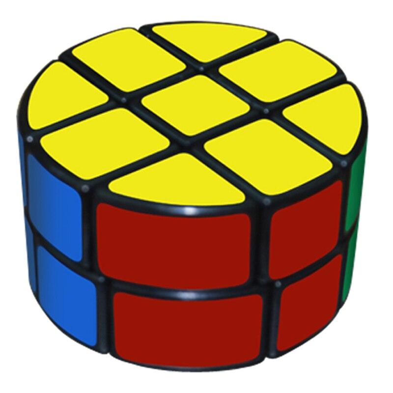 CubeStyle Lanlan Colonne 2x3x3 Professionnel Cube Magique Cylindre Speed Puzzle Classique Jouet D'apprentissage Éducation des Jouets Spéciaux 2*3*3
