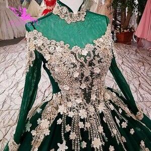 Image 2 - AIJINGYU Hochzeit Kleider Gürtel Derss Satin Ball Kostüm Gürtel Importiert Rustikalen Bräute & Kleid Hochzeit Kleid