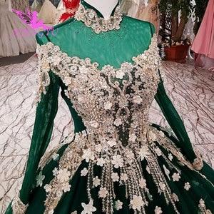 Image 2 - AIJINGYU Wedding Dresses Belts Derss Satin Ball Costume Belts Imported Rustic Brides & Gown Wedding Dress