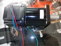NEMA 23 шаговый двигатель 57HS09 установить с планетарный редуктор соотношение 1:20 макияж редуктора или редуктор может выводить 18nm