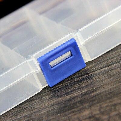 ACLOVEX ювелирные изделия Упаковка Организатор Box Дело Пластик прозрачный монета Pill ювелирные изделия Упаковка Организаторы Case изготовления ю...