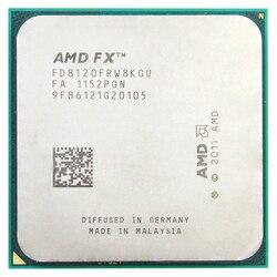 AMD FX 8120 AM3 + 3.1/8 メガバイト/125 ワット 8 コア Cpu プロセッサ
