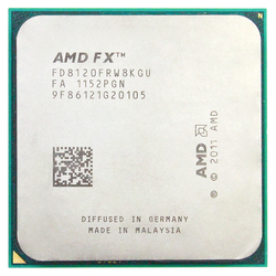 AMD FX 8120 AM3 + 3,1 GHz/8 MB/125 W ocho Core procesador de CPU