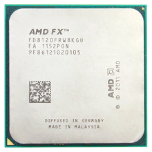 AMD FX 8120 AM3 + 3.1 GHz/8 MB/125 W Acht Core CPU processor