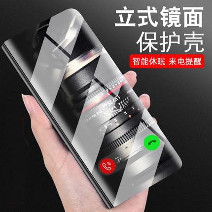 De luxe Miroir En Cuir Cas Pour Huawei Compagnon 10 lite/Nova 2i avec Flip Stand De Protection Couverture Arrière pour huawei mate10 lite nova2i