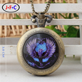 "pattern of fashion watch ""Harry Ravenclaw Potter"" Magic School quartz pocket watch ZS136"