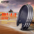 Zomei 77mm Slim Neutral Density Filter ND 2 4 8 nd filter Set for Canon Nikon Olympus Sony Pentax Fujifilm Hoya Dslr Camera Lens
