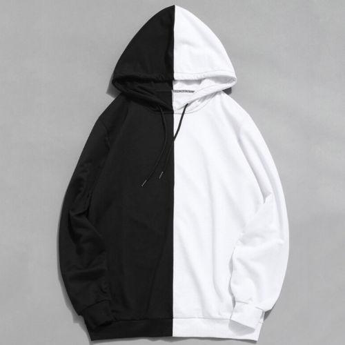 New Men's Hoodie Gym Bodybuilding Cotton Long Sleeve Top Hooded Loose Shirt Jumper Sweatshirts