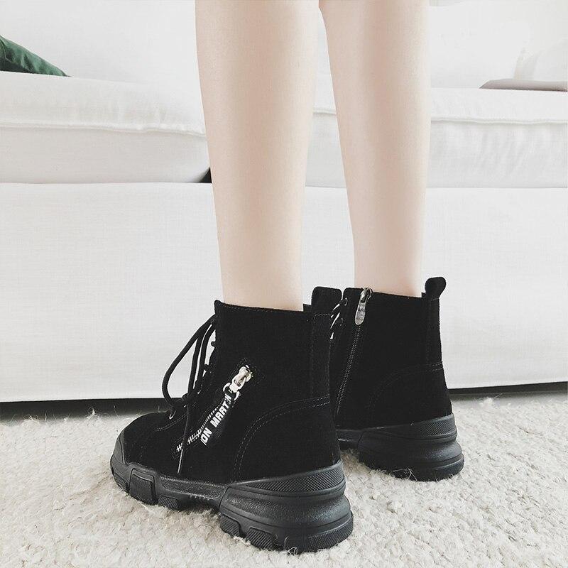 a1addea381c Sapatos brown Black Dentelle Talon Croix Cheville Martin De Bottes Plate  cravate Femmes Designer Mycoron Up forme Luxe ...