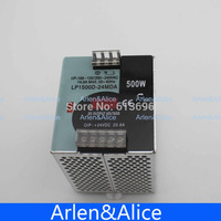 500W 24V 20 8A Mini Size Din Rail Single Output Switching Power Supply With Voltmeter Voltage