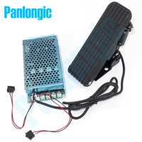 Panlongic Footboard Hall Throttle 100A 5000W Reversible PWM DC Motor Speed Controller 12V 24V 36V 48V Soft Start Foot Pedal