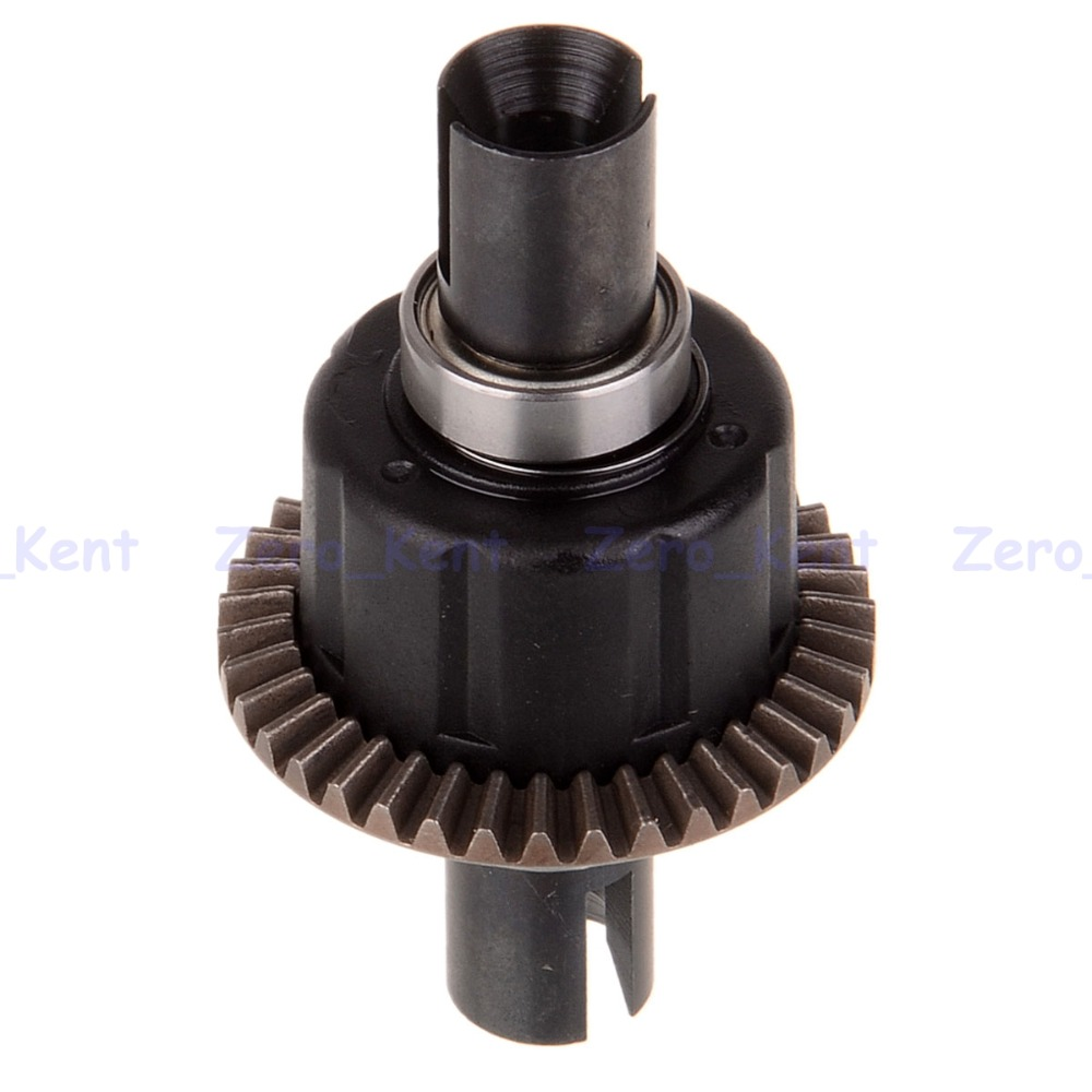Front/Rear Differential Gear Set 60045 HSP 1/8 RC 94760/94761/94762/94763/94766 wltoys 12428 12423 1 12 rc car spare parts 12428 0091 12428 0133 front rear diff gear differential gear complete