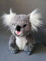 cute koala plush toy about 26cm gray koala soft doll kid's toy birthday gift h1802