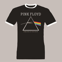 Pink Floyd T Shirt Pink Floyd Dark Side Of The Moon Concert Top Quality Casuals Cotton